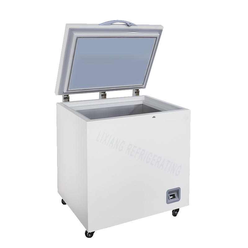Cryopreservation small chest freezer with top opening door LXBX-118LT60