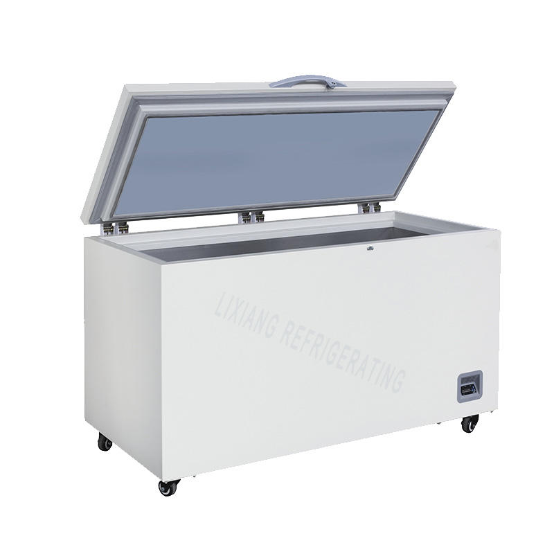 Deep frozen cryopreservation chest freezer for storing special material LXBX-318LT40
