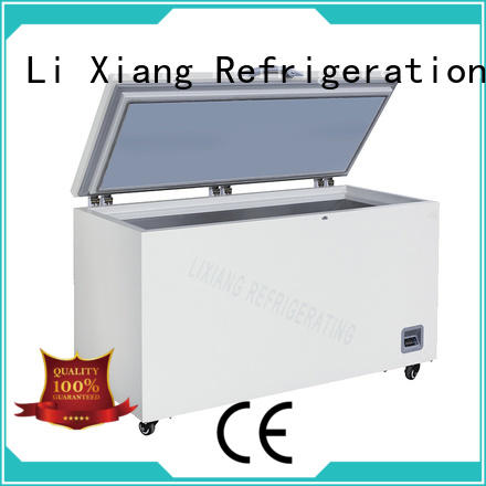 Li Xiang strong cooling cheap large chest freezers on sale for special materials deep frozen field