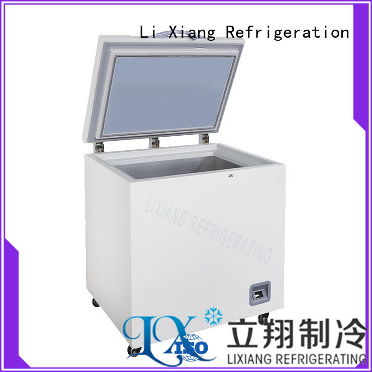 one-button start small chest freezer opening on sale for LCD production enterprises
