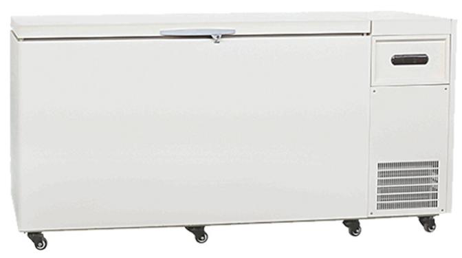 Deep frozen large chest freezer with top opening door LXBX-456LT40