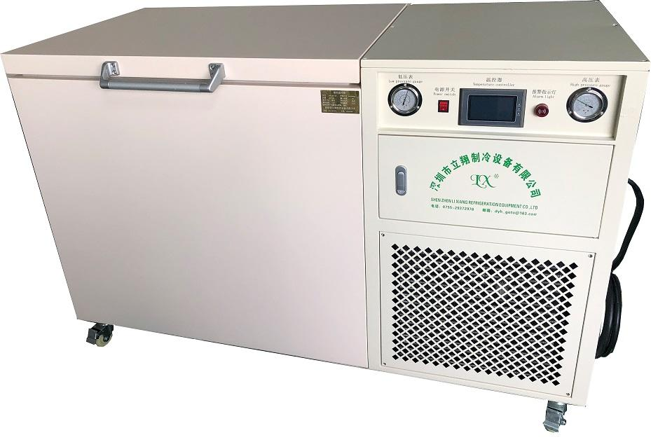 Ultra low temperature LCD frozen separation freezer (-150°C) LXBX-258L
