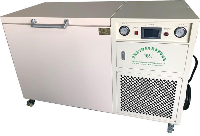 Ultra low temperature LCD frozen separation freezer (-150°C) LXBX-258L