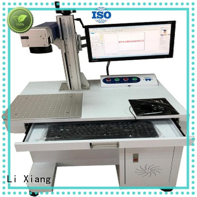Li Xiang integrated fiber laser engraver online for featuring high electro optic conversion efficiency