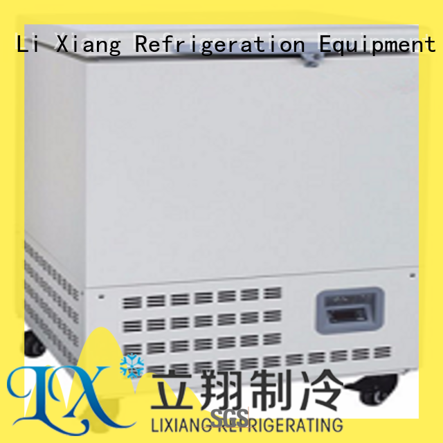 Li Xiang cryopreservation mini chest freezer for sale accessories for fresh tuna