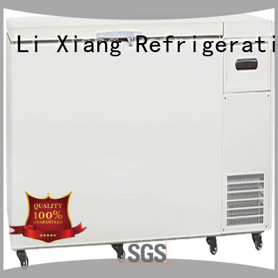 Li Xiang strong cooling largest chest freezer system for seafood