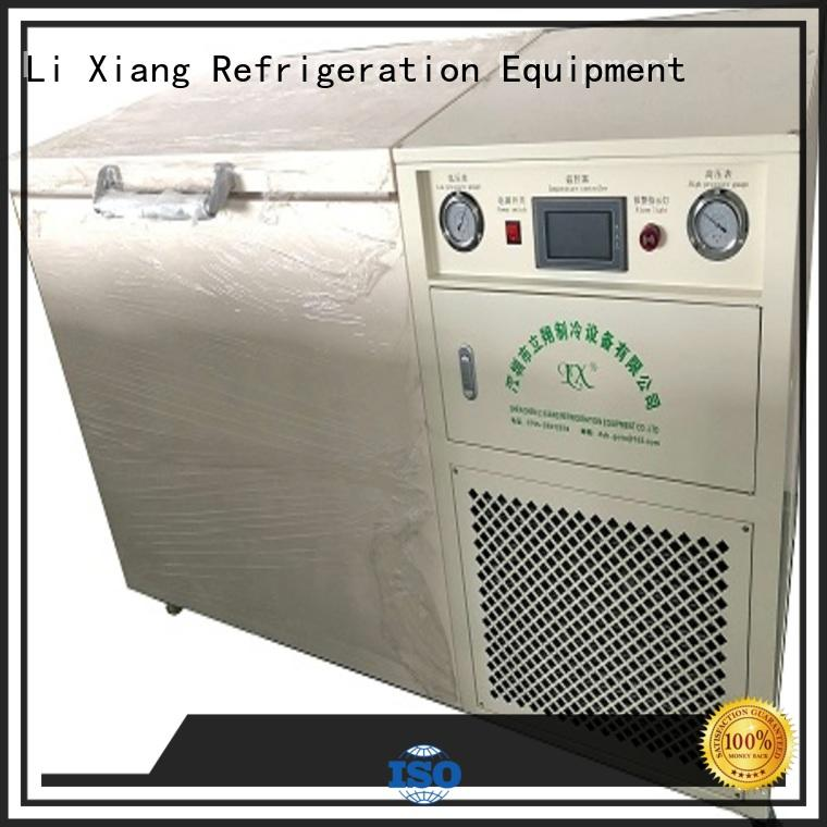 Li Xiang small small size chest freezer compressor for Photoelectric manufacturer