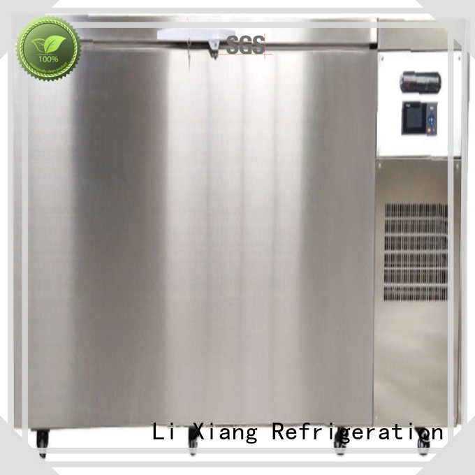 Li Xiang commercial commercial chest freezer system for special materials deep frozen field