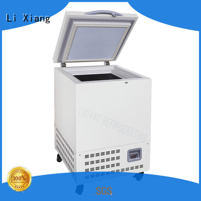 Li Xiang freezer mini chest freezer on sale for seafoods.