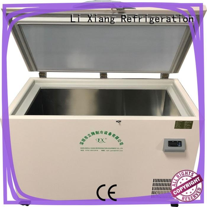 Li Xiang low small compact chest freezer on sale for Mobile maintenance industry.